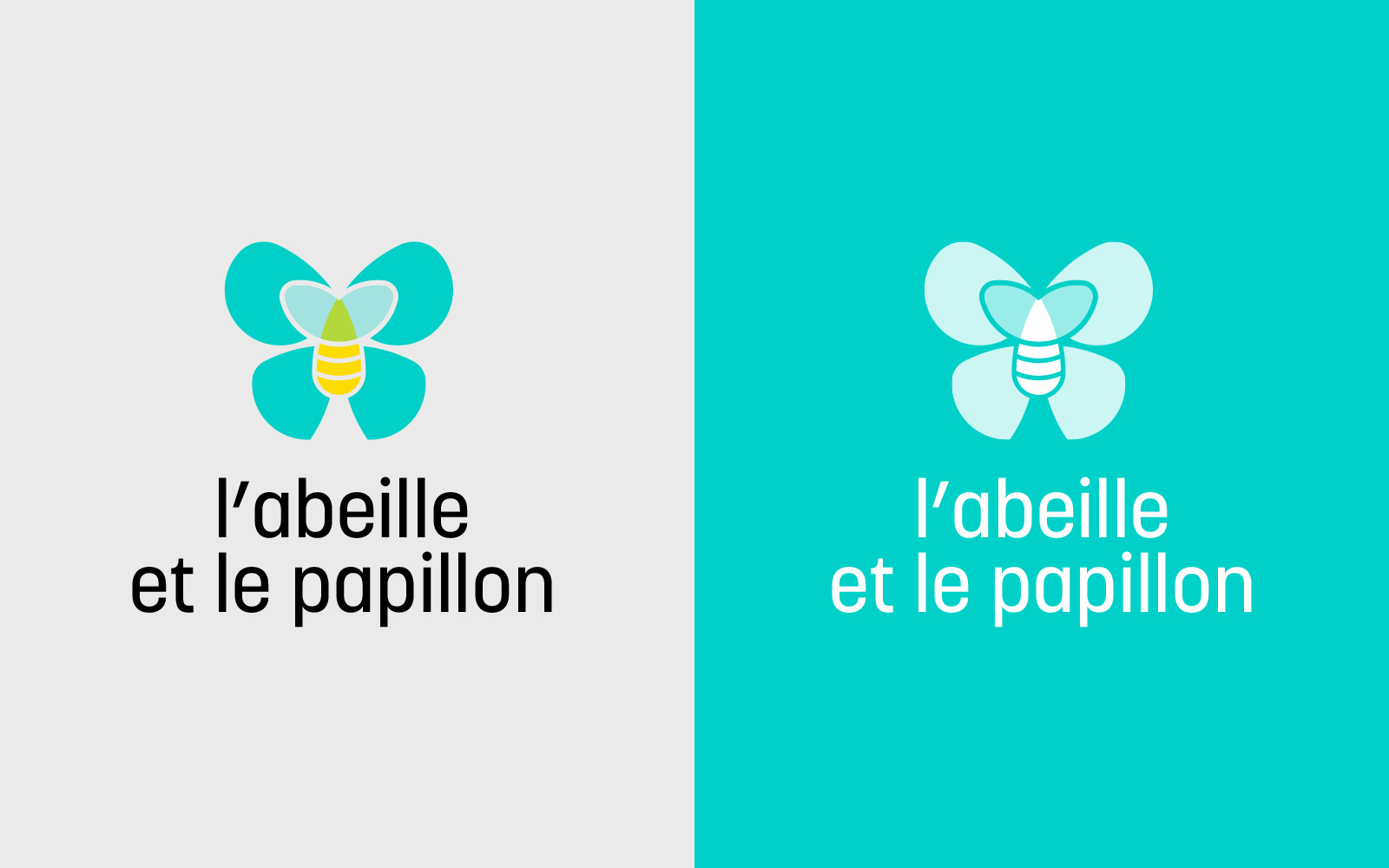 Abeille Papillon Logo