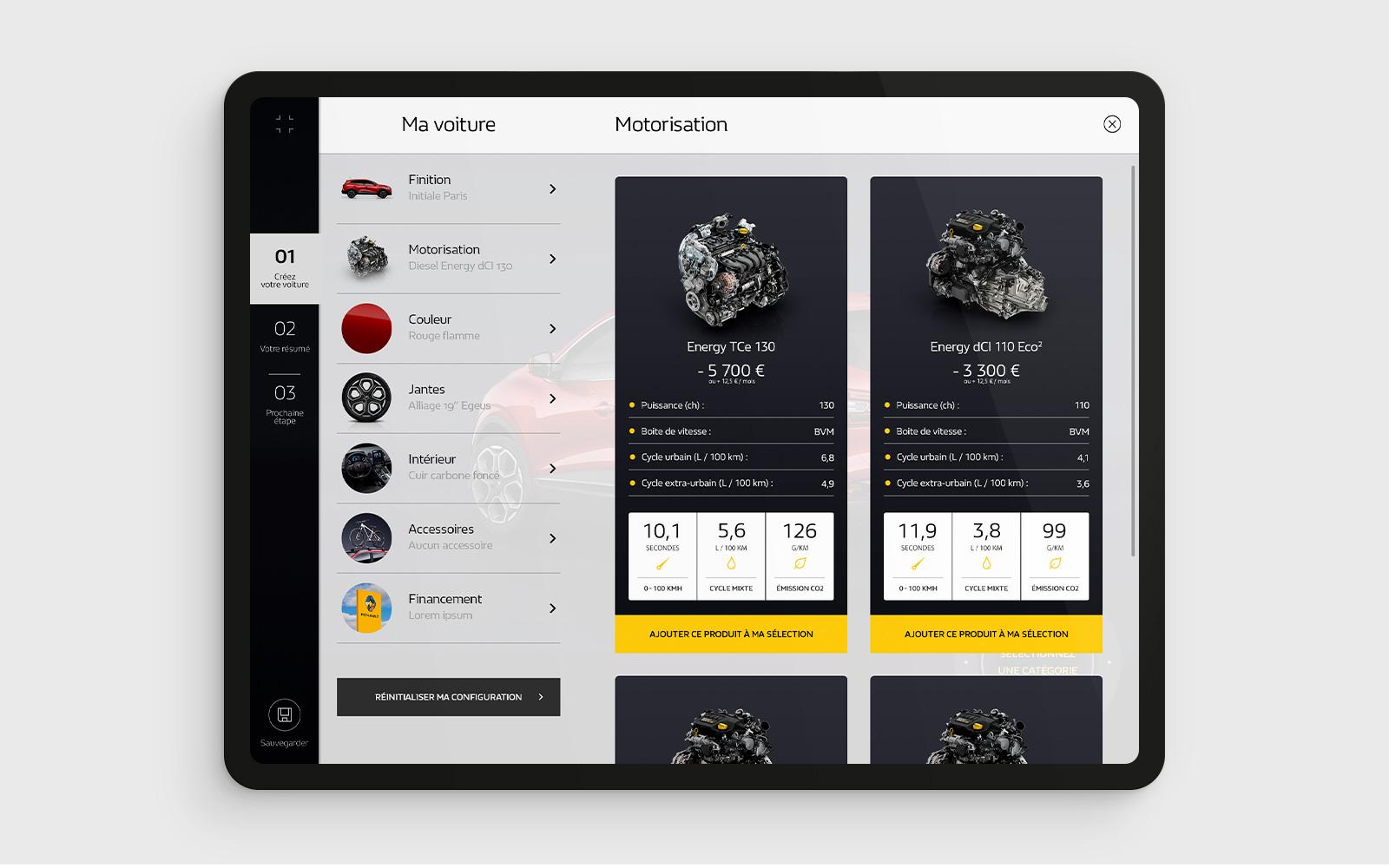 Access' Stories Tablette 01 moteur