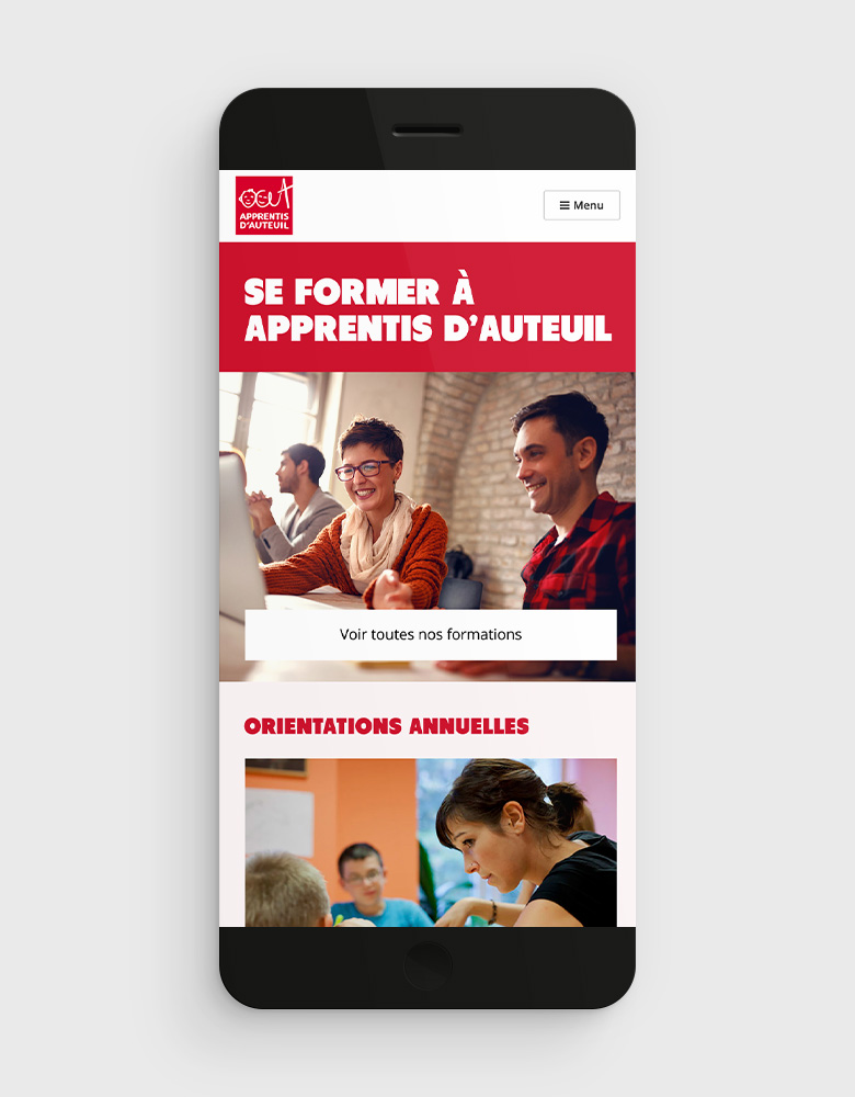 Apprentis Auteuil mobile accueil
