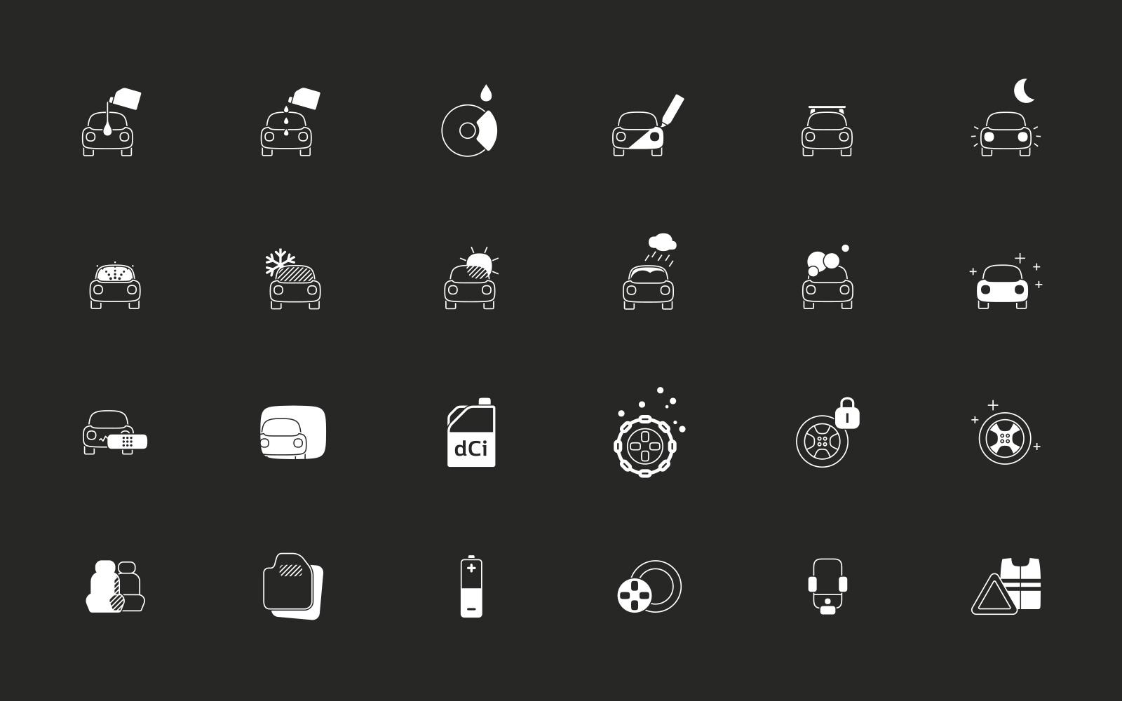 Pictogrammes Renault 2015 Packaging 01